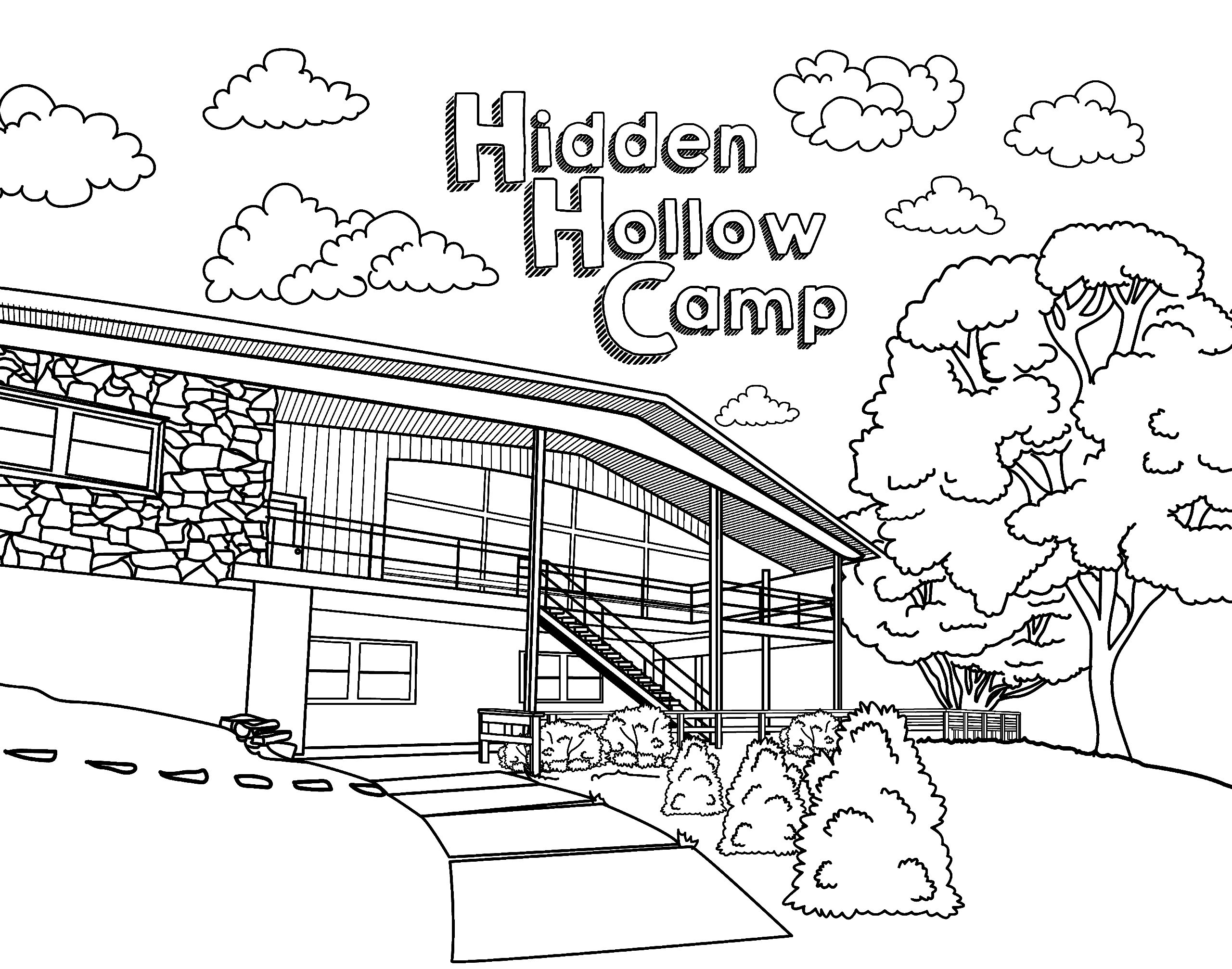 Hidden Picture Coloring Page | Fill in the colors to find hidden ... | 2014x2560